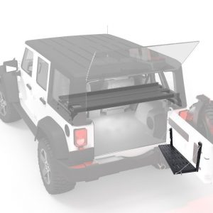 Multi-Purpose Flexible Tailgate For 07-17 Jeep Wrangler JK
