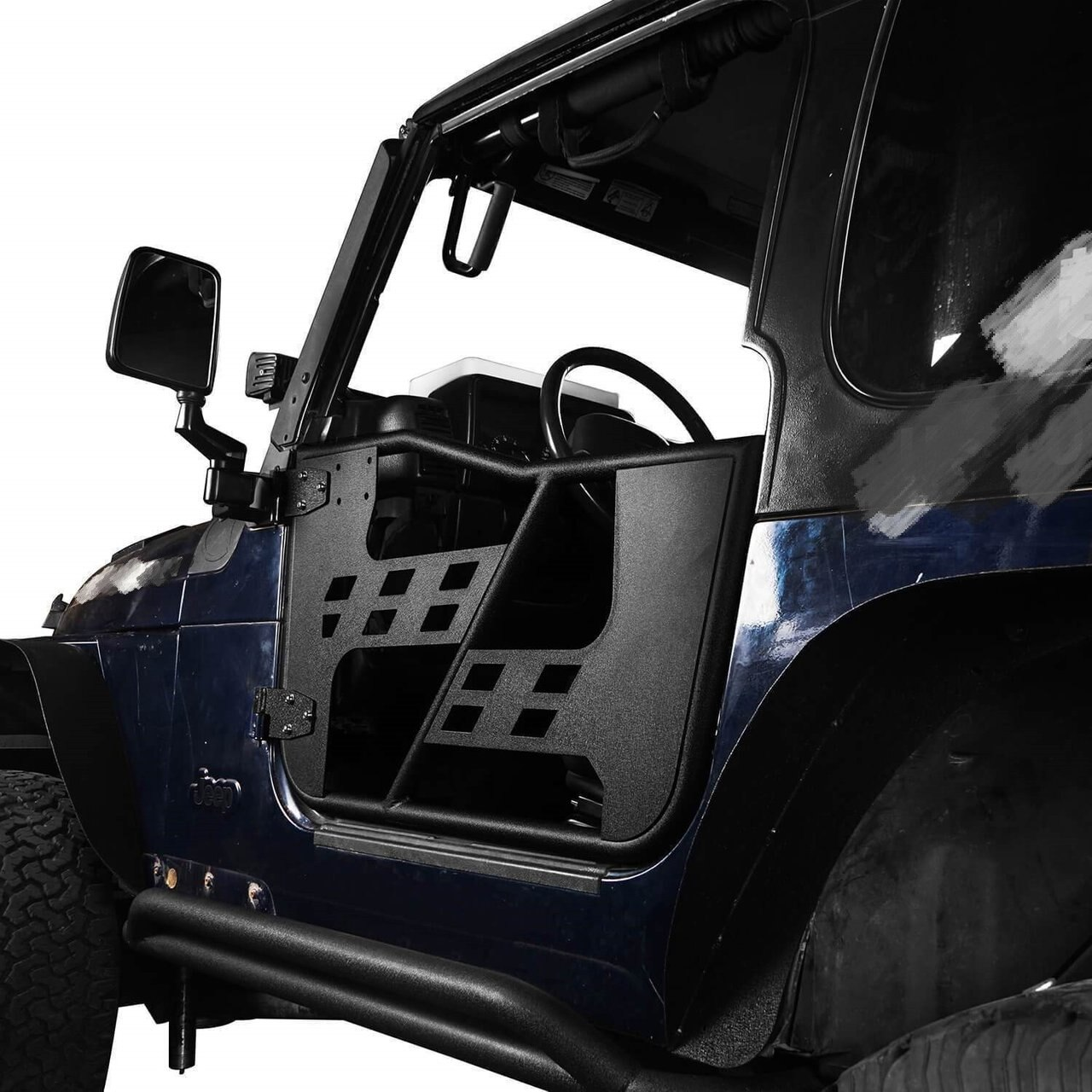Rock Crawler Tubular Doors for 97-06 Jeep Wrangler TJ