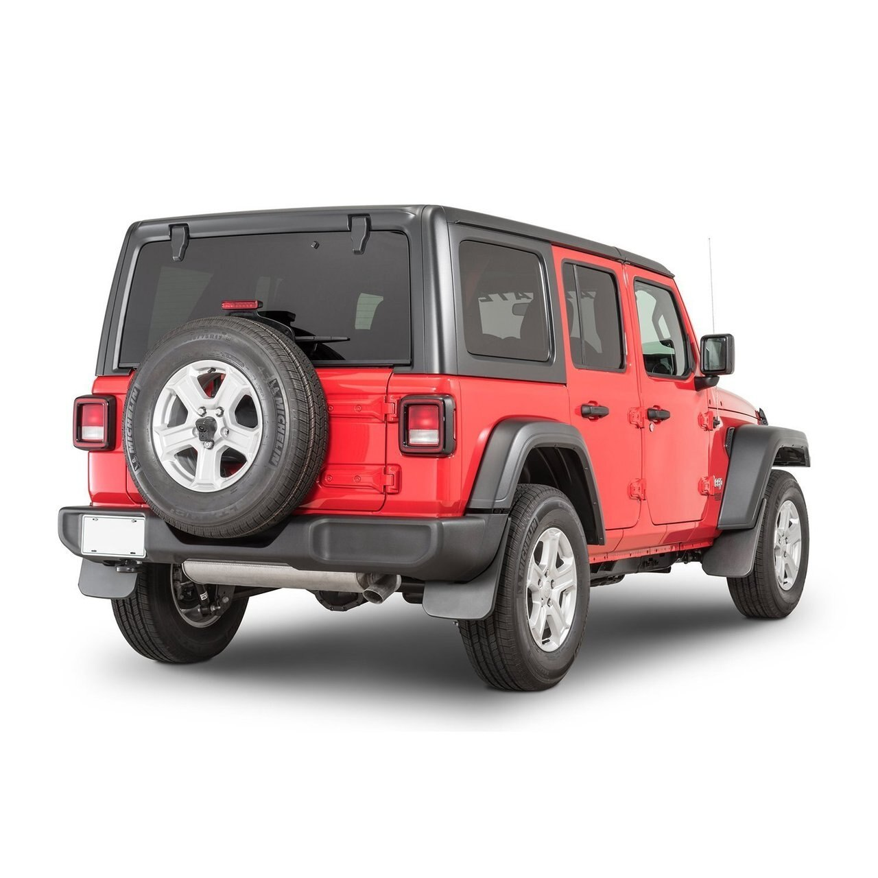 Molded Splash Guards for 2018 Jeep Wrangler JL-4pcs