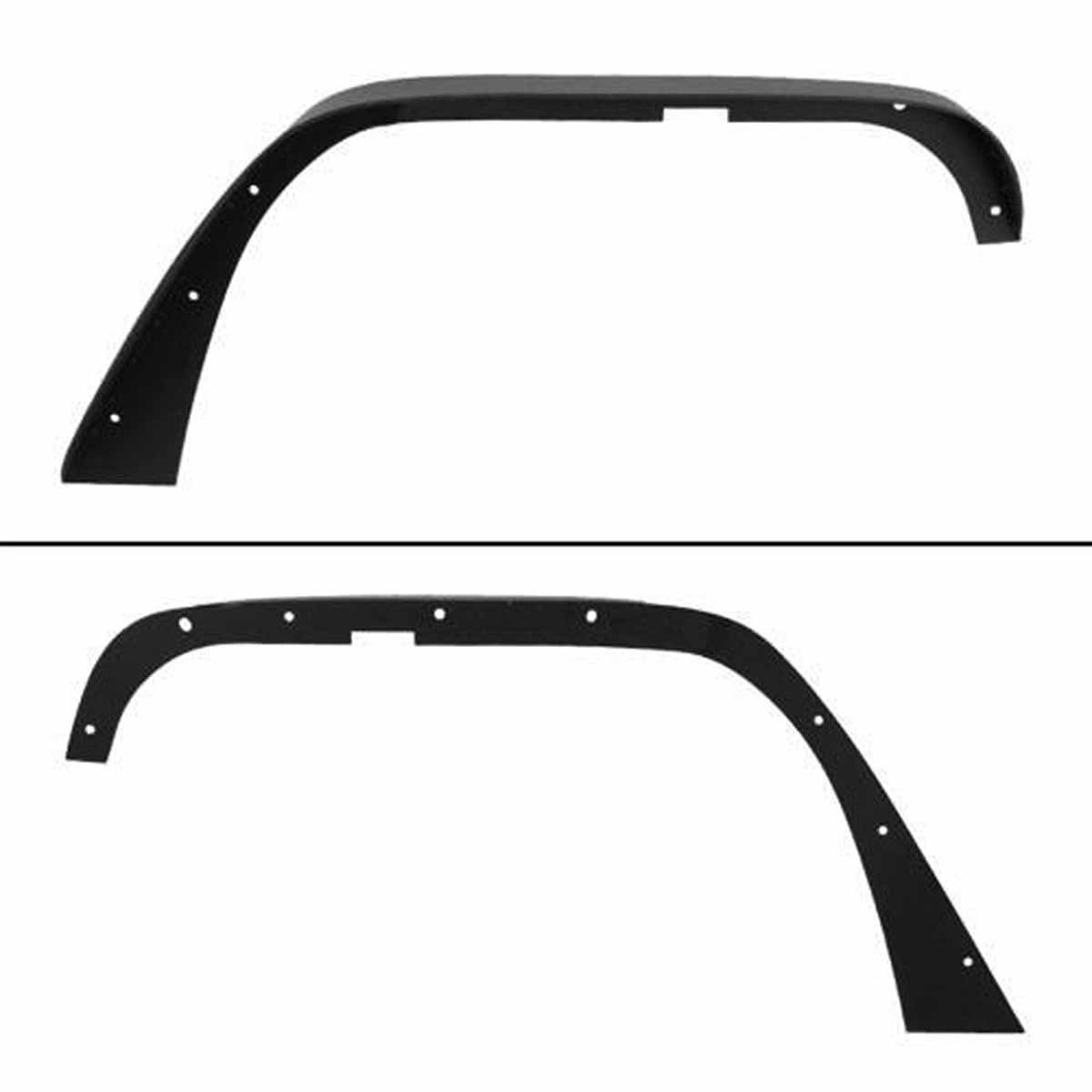 Steel Fender Flares for 07-18 Jeep Wrangler JK - 4Pcs