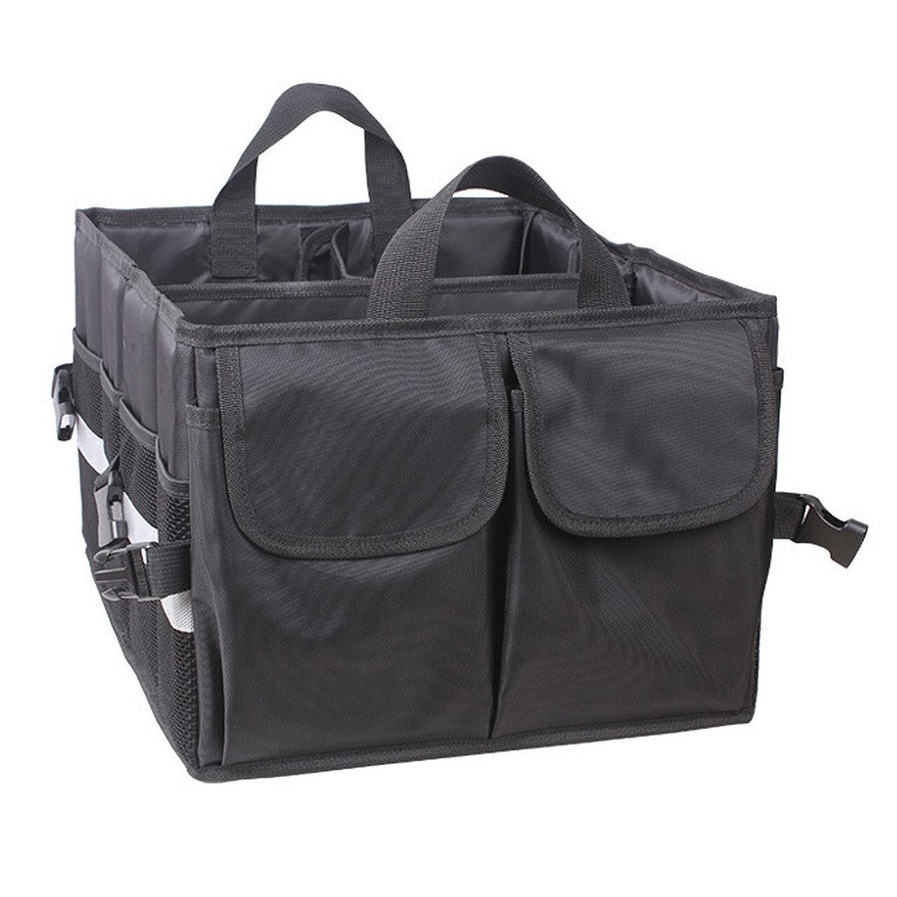 Storage Organizer Bin with Pockets Folding Bag